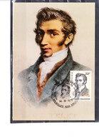 1742 Adolphe Quetelet - Astronome - Cartes-maximum (CM)