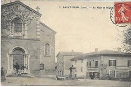 38 LES SAINTS LOT 1 De 6 Belles Cartes De L'Isère  , état Extra - Cartes Postales
