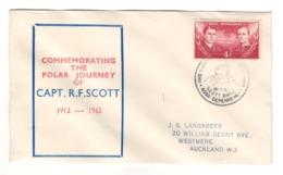 Ross Dependency, Scott Base, 1962, Commemorating The Polar Journey Of Capt. R.F. Scott - BL-222 - Autres