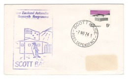 Ross Dependency, Scott Base, 1974, New Zealand Antarctic Research Program - BL-224 - Ross Dependency (New Zealand)
