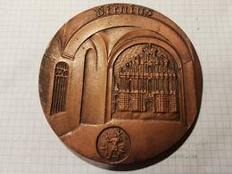 Lithuania Lietuva, Vilnius Medal 12 Cm - Jetons & Médailles