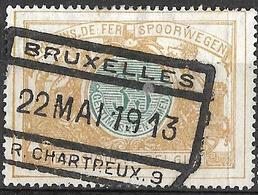 9S-933: TR33: BRUXELLES //R.CHARTREUX .9: Type F_sn1 - Chemins De Fer