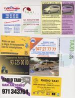 1352(1) TAXI, 10 Cards / Cartes / Tarjetas / Carte.- Spain / Espagne / España / Spagna. - Billetes De Transporte