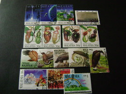 Malaysia 1996 Stamp Issues (SG 595-610, 616-621, 623-630) 2 Images - Used - Malaysia (1964-...)