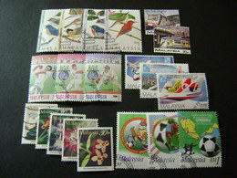 Malaysia 1997 Stamp Issues (SG 631-634, 636-672, Ms673) 3 Images - Used - Malaysia (1964-...)
