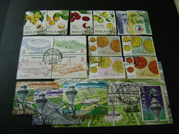 Malaysia 1998 Stamp Issues (SG 674-687, Ms688, 689-713, Ms714) 3 Images - Used - Malaysia (1964-...)