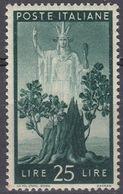 ITALIA -  Yvert 500 Nuovo MNH. - 6. 1946-.. Repubblica