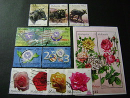 Malaysia 2003 Stamp Issues (between SG 1113 And 1180 - See Description) 5 Images - Used - Malaysia (1964-...)