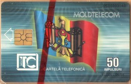 Moldova - MD-MOL-1IS-0001, Stefan Cel Mare, 1st Issue, Flag, Statue, 10.000ex., 9/94, Mint - NSB As Scan - Moldova