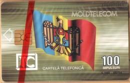 Moldova - MD-MOL-1IS-0003, Triumphal Arch, 1st Issue, Flag, Gates, 5.000ex., 9/94, Mint - NSB As Scan - Moldova