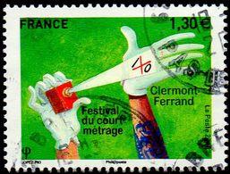 Oblitération Cachet à Date Sur Timbre De France N° 5201 - Festival Du Court Métrage De Clermont-Ferrand - France