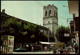Vinaroz  -  Calle San Cristobal Y Torre Campanario  -  Ansichtskarte  Ca. 1981    (9760) - Castellón