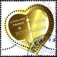 Oblitération Cachet à Date Sur Timbre De France N° 5293 - Coeur De Boucheron - France