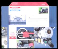 669  Trains - Aerogramme 2014 - Cb - 2,50 - Trains