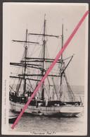 """Carte Photo """"POURQUOI PAS"""" Du Commandant """"CHARCOT"""" à Toulon _Expédition Polaire Antartique _ Bateau, Canot, Marin - Missions"""