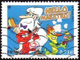 Oblitération Moderne Sur Timbre De France N° 5171 Série Jeunesse - Il était Une Fois ... La Vie Hello Maestro ! - Used Stamps