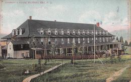 Murray Bay Québec Canada - Chamard Hotel Inn Auberge - Slightly Torn Corner - Stamp & Postmark 1909 - See 2 Scans - Quebec