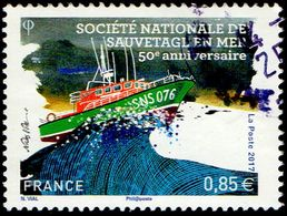 France Oblitération Cachet à Date N° 5151 - Anniversaire De La Société Nationale De Sauvetage En Mer - Used Stamps