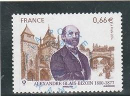 FRANCE 2014 ALEXANDRE GLAIS BIZOIN OBLITERE A DATE YT 4842 - France
