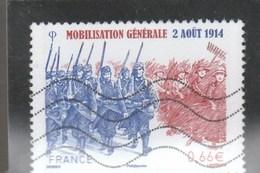 FRANCE 2014 MOBILISATION GENERALE OBLITERE YT 4889 - - France