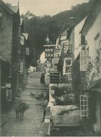 001 - ROYAUME-UNI - CLOVELLY - Higt Street New Inn Hotel Board - Devon - Clovelly