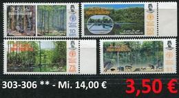 Brunei - Michel 303-306  - ** Mnh Neuf Postfris - Wälder - Forest Resources - Brunei (1984-...)