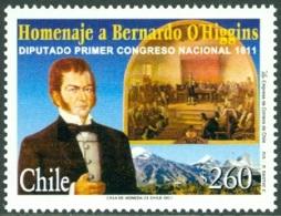 CHILE 2001 BERNARDO O'HIGGINS** (MNH) - Chili