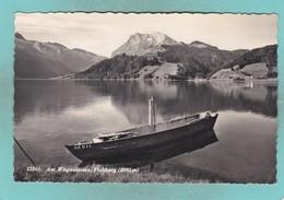 Small Post Card OfWägitaler See, Schwyz, Switzerland,Q108. - SZ Schwyz