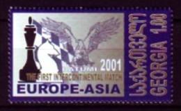 Schach Chess Ajedrez échecs - Georgien Georgia 2001 - MiNr 379 - Schaken