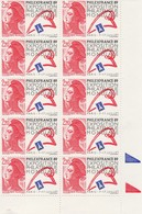 FRANCE 1988 N°2561*° PHILEXFRANCE89  BLOC DE 10 BDF - France
