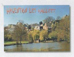 ARGENTON LES VALLEES DEUX SEVRES - UNE VUE DU VILLAGE, PAP ENTIER POSTAL, VOIR LES SCANNERS - Vacances & Tourisme