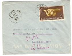 14124 - PAR AVION POUR LA FRANCE - Viêt-Nam