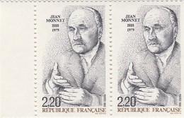 FRANCE 1988 N°2533*° MONNET LA PAIRE BDF - France