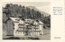 Hotel Vent Im Bergsteigerdorf - Otztal, Tirol (Tyrol) - Lohmann - Carte Non Circulée - Hotels & Restaurants