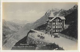 Hotel Klausen-Passhöhe - Klausenstrasse (1838 M) - Edition Photoglob, Carte Non Circulée - Hotels & Restaurants