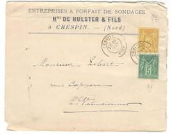 14137 - CRESPIN - Marcophilie (Lettres)