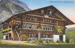 Berner-Haus (Châlet Bernois) Berne - Edition Photoglob - Carte Colorisée Non Circulée - BE Berne