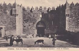 Israël - Jérusalem - Porte De Damas - Damascus Gate - Puerta De Damasco - Porta Di Damasco - Israel
