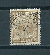 1892 Netherlands Indië Stempel MUNTOK Used/gebruikt/oblitere - Indes Néerlandaises