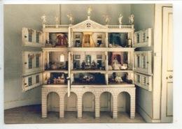 Maison De Poupées - Dolls House By Sarah Lethieullier (Fetherstonhaugh - Uppark) Cp Vierge - Jeux Et Jouets