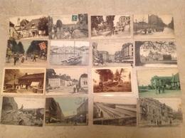 50 Petites Cpa Et Drouille (majorité France) - Cartes Postales