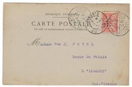 14155 - Gare Du Sud Ouest - Marcophilie (Lettres)
