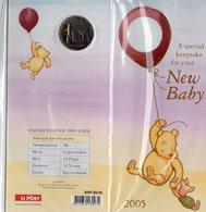 AUSTRALIA, 2005  50c BABY KEEPSAKE UNC COIN IN FOLDER - Australia