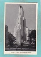 Small Post Card Of Edificio Kavanagh,Buenos Aires, City Of Buenos Aires, Argentina,Q109. - Argentina