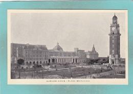 Small Post Card Of Plaza Britanica,Buenos Aires, City Of Buenos Aires, Argentina,Q109. - Argentina