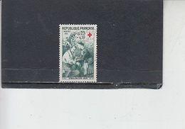 FRANCIA  1966 -  Yvert  1508/9 ° - Croce Rossa - Francia