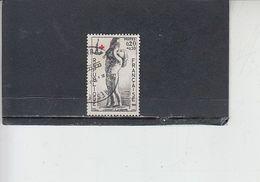 FRANCIA 1963 - Yvert  1400/01° - Croce Rossa - Francia