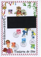 FDC  Du 10/5/2010. Timbres De Fête - Feestzegels. N° 4037/41. Cote 2018: 8 €. - 2001-10