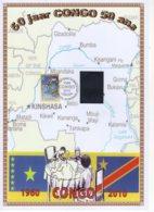 FDC  Du 14/6/2010. 50 Jaar Congo 50 Ans. N° 4047. Cote 2018: 8 €. - 2001-10