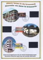 FDC  Du 20/9/2010. Nouvelle Vie Dans La Brasserie- Nieuw Leven In De Brouwerij. N° 4061/63. Cote 2018: 10 €. - 2001-10